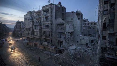 APTOPIX Mideast SyriaInternet