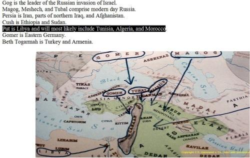 Gog - Magog Map