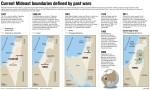 Historic look at boundaries in Israel,1947-present